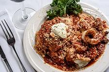 Shrimp and Eggplant Parmigiana